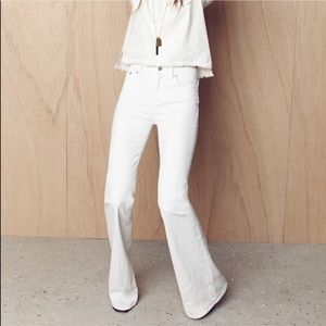 Made well wide leg jeans
